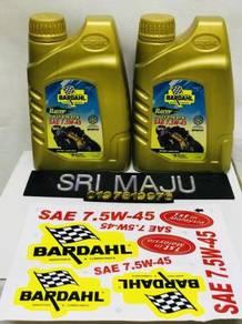 Bardahl Racer 4T oil 7.5w 45 FULLY SYNTHETIC