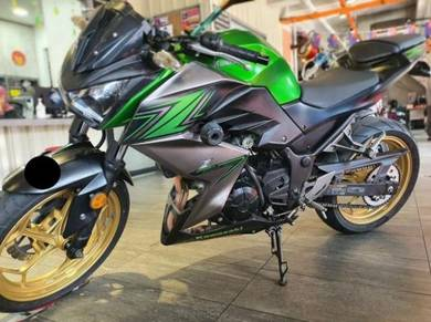Kawasaki Z250 Tip Top Condition Full Loan