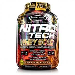 Muscletech NitroTech 100%Whey Gold 6lbs Nitro Tech