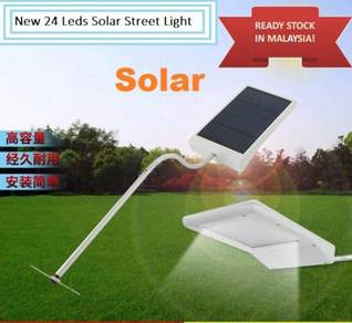 Solar Powered 24 LED Street Light Solar Lamp