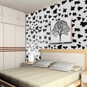 Self-Adhesive Wallpaper-Modern Cow Spot Design