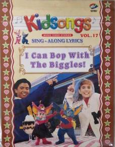 VCD Kidsongs Sing Along Lyrics I Can Bop With The