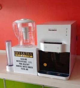 Penapis air Qierra water filter pitcher ionizer Q3