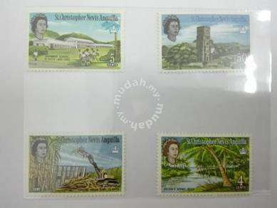 (RB 107) 1963 Nevis Stamps , Set In 4- MLH