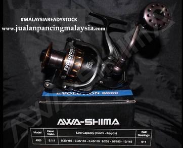 Awashima evolution reel 4000,6000