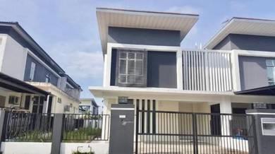 Pulai Indah 0% downpayment CLUSTER HOUSE, Skudai Kangkar Jaya