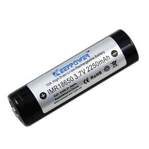 KeepPower IMR 18650 3.7V 2250mAh HighDrain Battery