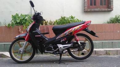 Honda wave 100 r condition bagus