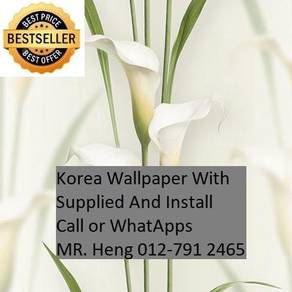 Wall paper Install at living space 20JI