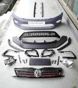 Volkswagen Vw Jetta GLI Facelift Bodykit Bumper