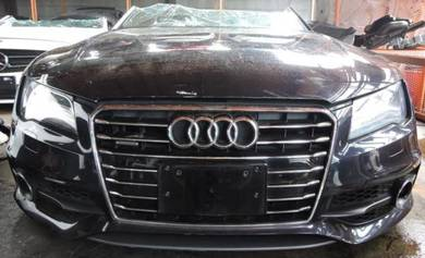 Audi A7 2013 3.0 CGW Engine Gearbox Body Parts
