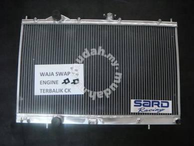 Aluminum radiator SARD Evo 456 - CK terbalik