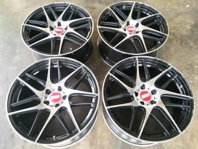 Bbs cx-r wheels 19inc volkswagen scirocco