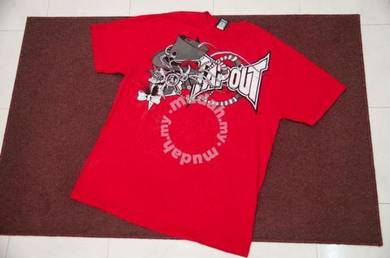 TAPOUT MERAH tee size L