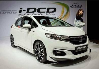 Honda jazz gk 2017 mugen bodykit with paint abs