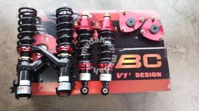 Bc v1 adjustable hilow body shift honda civic 1.7