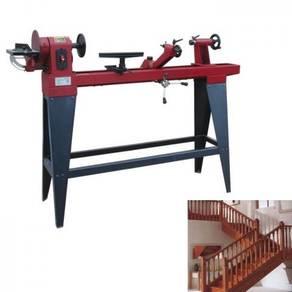 Woodworking lathe machine stair handrail