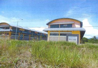 2 Storey Terrace Light Industrial Building, Keningau For Auction