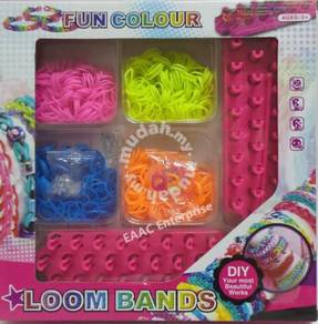DIY Rubber Band Colorful Loom Band Starter Kit