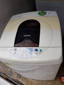 Mesin Basuh Automatic Top Load Washer Samsung Auto