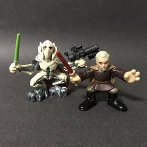 Hasbro Star Wars Count Dooku & General Grievous