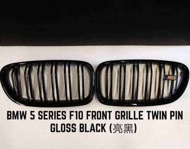BMW F10 M5 5 Series Front Grill Grille Gloss Black