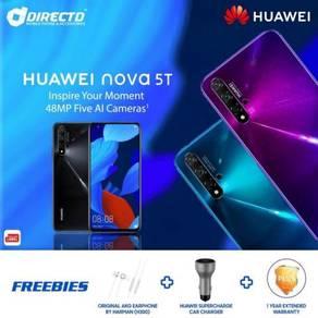 HUAWEI nova 5T (8GB/128GB/4 kamera blkg)+ 3 HADIAH