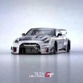 Nissan GTR 35 LB Walk V3 Wide Bodykit