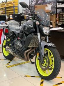 Yamaha mt07 mt-07 mt 07 2017/2018