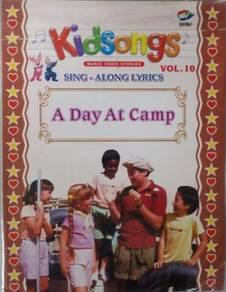 VCD Kidsongs Sing Along Lyrics A Day At Camp Vol.1