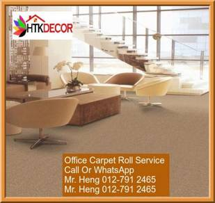 Classic Plain Design Carpet Roll with Install Z7PB