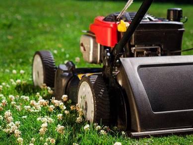 Potong rumput & Landscape & Tanam rumput