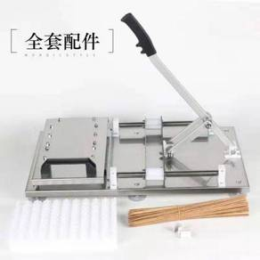 Manual satay cucuk mesin