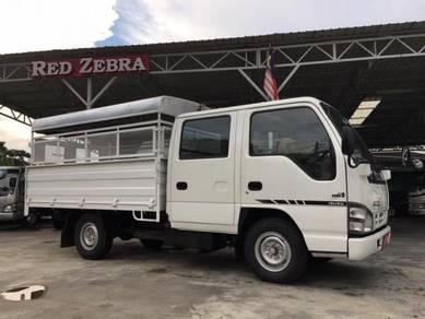ISUZU Double Cab Steel Cargo Aluminium Top Yr 2019
