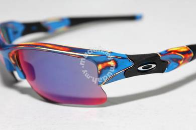Oakley FlakJacketXLJ Distressed Blue - 4 lenses
