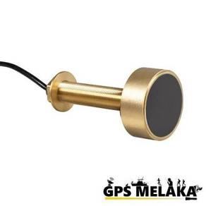 Bronze Thru Hull Transducer for Garmin 585 Plus