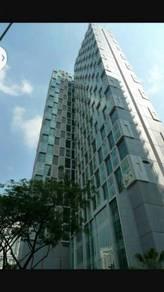 Office unit 650 sf in SOHO Suites KLCC (Menara SOHO), KL City Centre