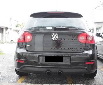 VW GOLF MK5 R32 rear bumper diffuser bodykit