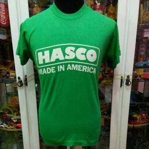 Vintage 80's Hasco Made in America 50/50 T Shirt