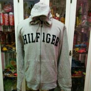 Tommy Hilfiger Big Logo Spell Out Zipper Hoodies