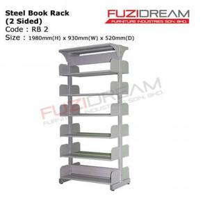 Rak buku 2 muka / 2 sided book rack