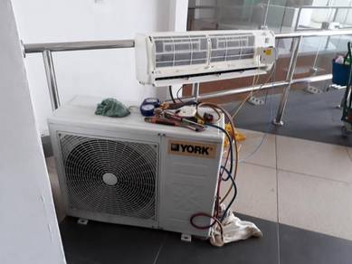 Air cond 1hp_seken-2nd with warranty/siap pasang.