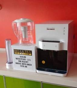 Penapis air Qierra Ionizer Water Filter Pitcher W6