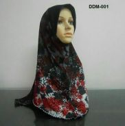 Tudung Denim Digital ( Size M)