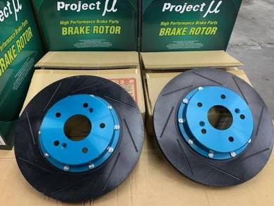 Project Mu U - SCR Pro Rotor Honda Civic FD2 R