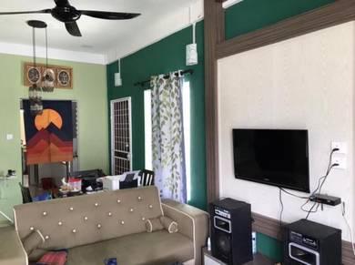 Corner Single Storey Terrace House At Samarindah Baru Kota Samarahan