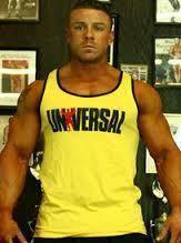 Universal Yellow Fitness Singlet Baju Gym sport