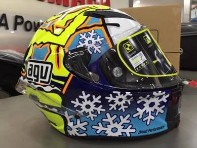 AGV Pista Gp Rossi Winter Test 2016