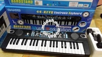 Keyboard Elektronik Warna Hitam - 44 keys (Canto)