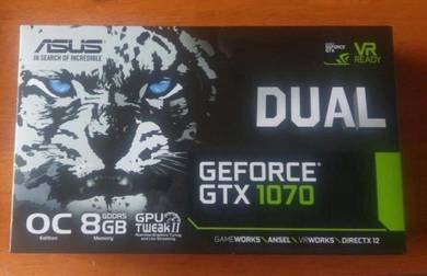 ASUS GeForce GTX 1070 8GB OC 4K